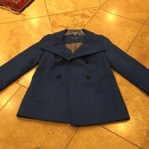 Royal blue Calvin Klein coat